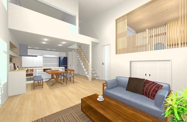 七呂建設 鹿児島市星ケ峯にて「空からの光が中庭を通って室内いっぱいに広がるデザイン住宅」の完成見学会