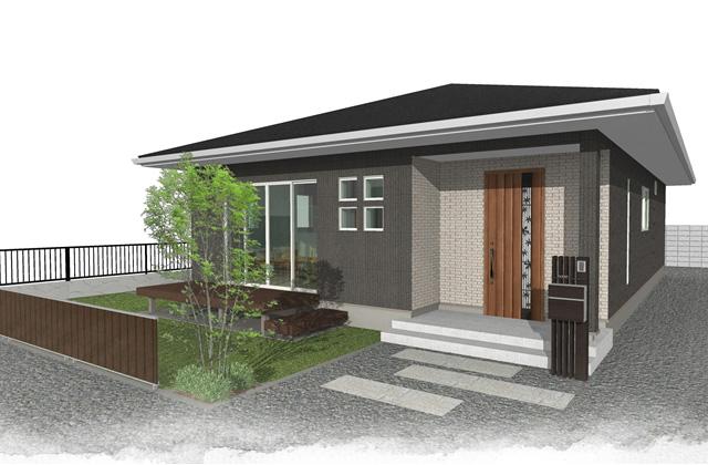 霧島市横川町にて「機能性にすぐれたオーナーのこだわりがつまった平屋」の完成見学会