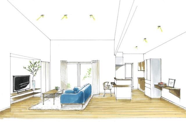 トータルハウジング 鹿屋市大浦町にて「多目的な中2階のある平屋の家」の新築発表会