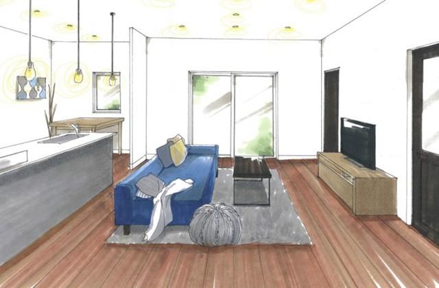 トータルハウジング 鹿児島市吉野町にて「閑静な住宅街に佇むシックな平屋」の新築発表会