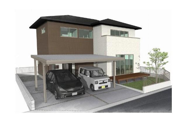 ユニバーサルホーム 鹿児島市中山町にて「床暖房のある2階建ての家」のオープンハウス