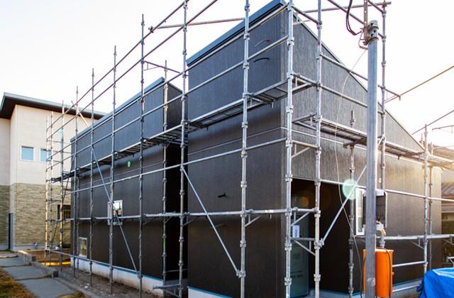 感動 鹿児島市吉野町にて「坪庭のある平屋」の完成前現地説明会