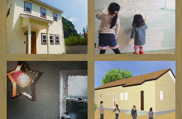 JMC 鹿屋市にて「漆喰やペンキで飾られた家」のオープンハウス