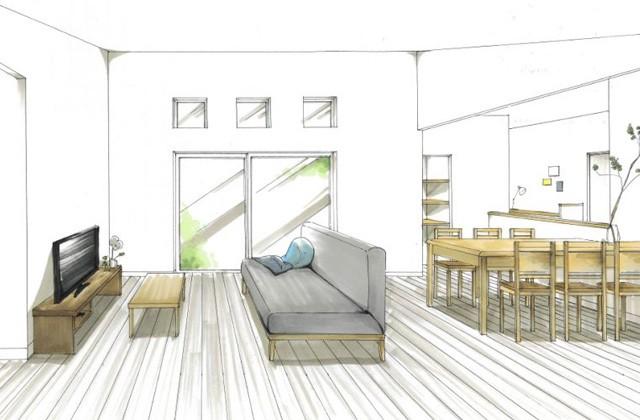 トータルハウジング 日置市伊集院町にて「生活を考えた収納が随所に見られる家」の新築発表会