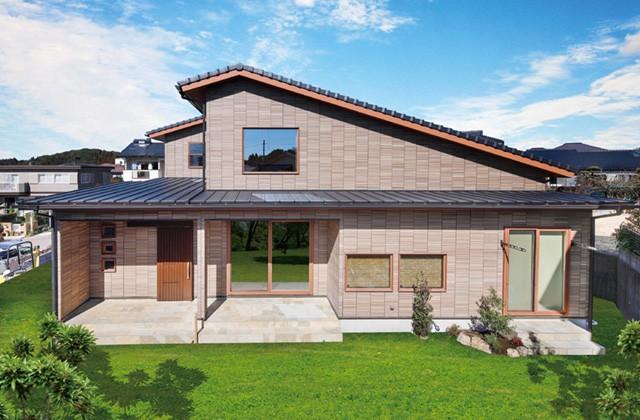 七呂建設 日置市伊集院町にて「段差を活かし快適な間取りを追求した多層構造の家」の完成見学会