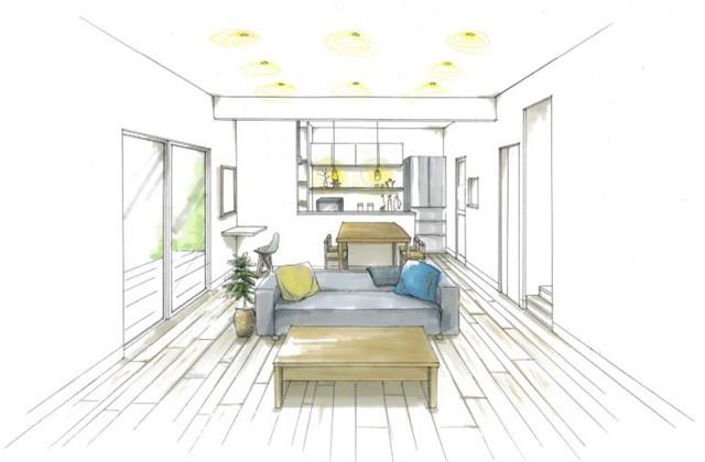 トータルハウジング 姶良市西餅田にて「スキップフロアで開放感のあるナチュラルテイストな家」の新築発表会