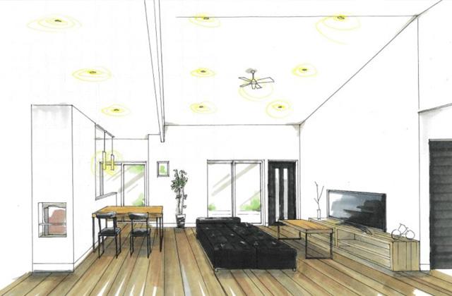 トータルハウジング 鹿児島市星ヶ峯にて「家族が自然と集まるセンターリビングの家」の新築発表会