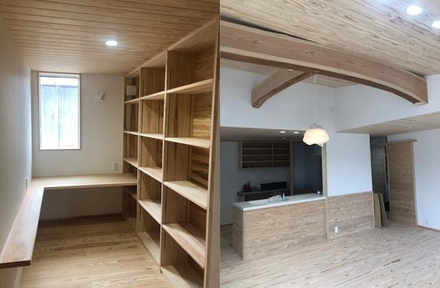住まいず 霧島市溝辺町にて平屋「本物の木の家」の完成内覧会