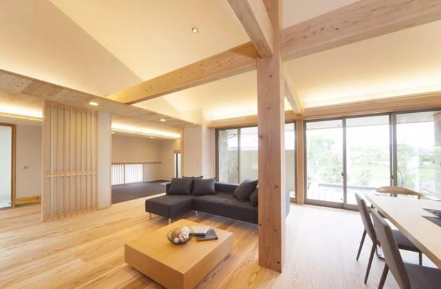 ヤマサハウス 鹿児島市吉野町にて「センターリビング設計の平屋」の完成見学会