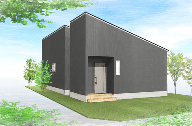 感動 鹿児島市吉野町にて分譲住宅「坪庭のある平屋の家」の完成見学会