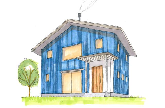 グッドホームかごしま 鹿児島市吉野町にて「薪ストーブのある家」の完成見学会