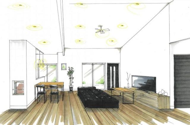 トータルハウジング 姶良市平松にて「センターリビングで家族が自然と集まる家」の新築発表会