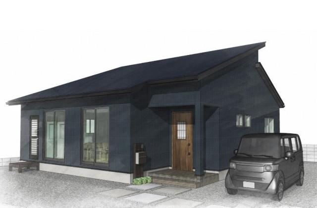 ユニバーサルホーム 鹿児島市紫原にて「勾配天井とスキップフロアのある平屋」のオープンハウス