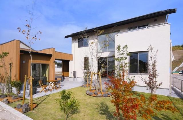 ヤマサハウス 鹿児島市山田町の南くらら台にてオープンハウス