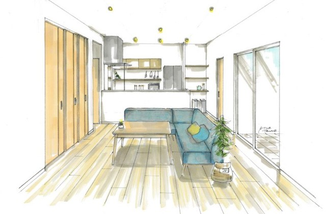 トータルハウジング 姶良市平松にて「リビングとつながる和室が大空間をつくる家」の新築発表会