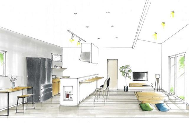 トータルハウジング 姶良市加治木町にて「家族が自然と集まるリビングベンチのある平屋の家」の新築発表会