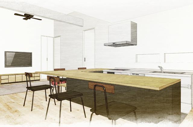 ユニバーサルホーム 鹿児島市吉野町にて吉野モデルハウス「マチカド」のオープンハウス