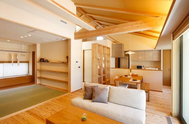 ヤマサハウス さつま町柏原にて「勾配天井のある平屋」の完成見学会