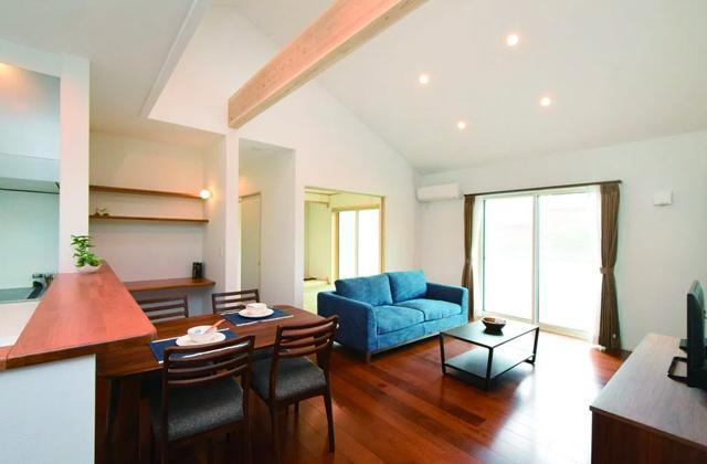 ヤマサハウス 鹿児島市吉野町にて「充実した収納計画、落ち着いた雰囲気の家」の完成見学会