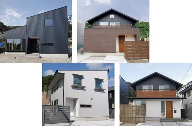 ベルハウジング 鹿児島市中山にて「個性的な片流れ屋根とシンプルな外観の家」など4棟のお住い見学会