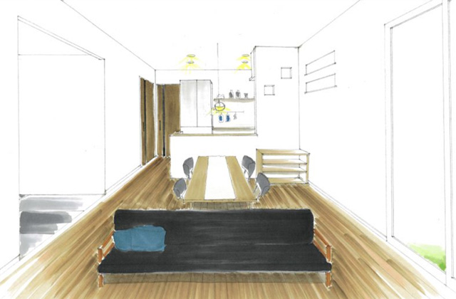 トータルハウジング 鹿児島市星ヶ峯にて「ちょうどいいサイズの暮らしを楽しむ家」の新築発表会