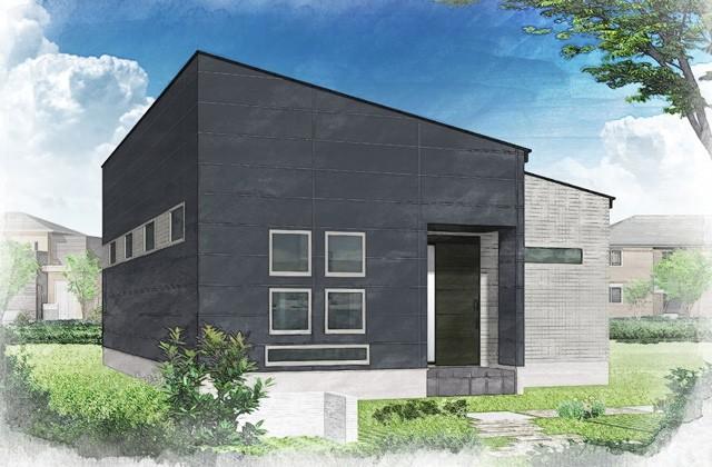 感動 鹿児島市桜ケ丘にてモデルハウス「中庭のある3LDK平屋」がオープン