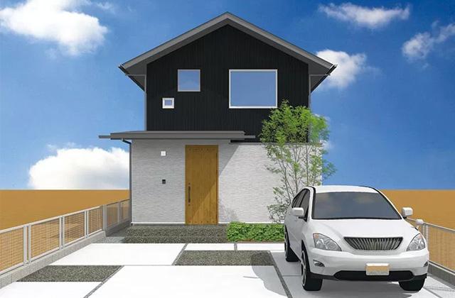 ベルハウジング 鹿児島市宇宿にて「縦長の土地を有効利用した家」の完成見学会