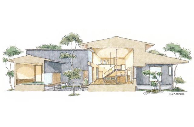 ベガハウス 鹿児島市にて注文住宅「中山町のスキップフロア」の完成見学会