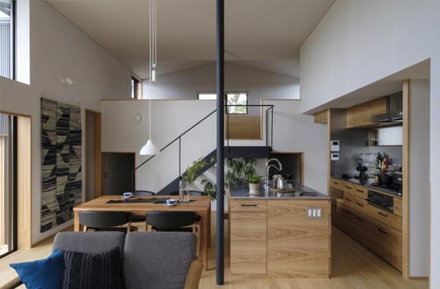 ベガハウス 鹿児島市中山の「親子が程よくつながる中2階にこども室のある家」のライフスタイル見学会
