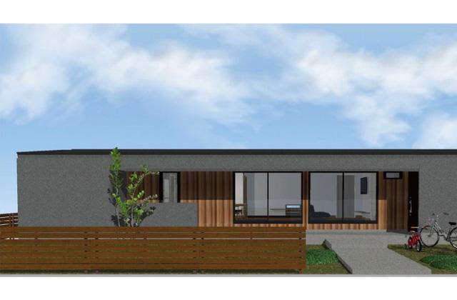 中池組 いちき串木野市上名にて「シンプルで横長なデザイン住宅」の完成見学会【5/22,23】