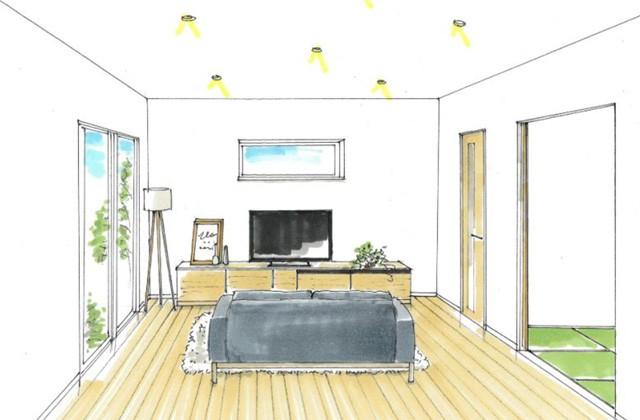 トータルハウジング 姶良市加治木町にて「ファミリークローゼットのある平屋の家」の新築発表会