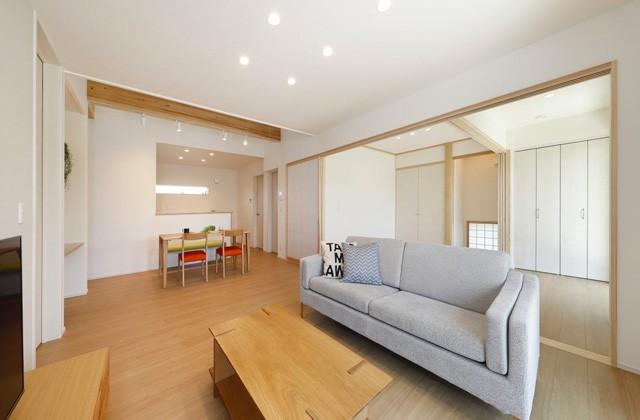 ヤマサハウス 鹿屋市旭原町にて「家事がしやすい回遊動線のある平屋」の完成見学会