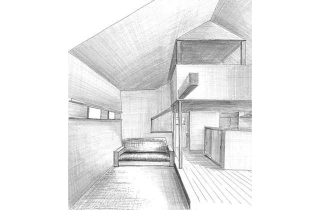 ベガハウス 「2階にリビングのある家」