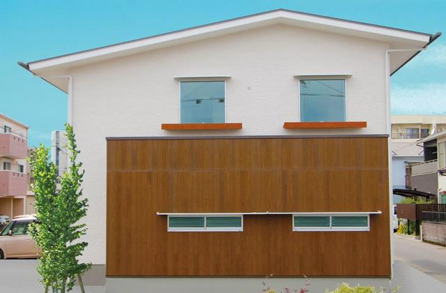 ベルハウジング 鹿児島市宇宿にて「角地に建つ三角屋根の家」の完成見学会