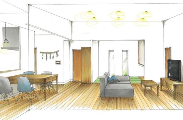 トータルハウジング 姶良市加治木町にて「家族の暮らしを考えた地震に強い2×4工法の家」の新築発表会