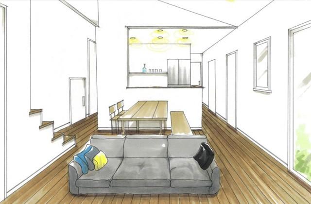 トータルハウジング 薩摩川内市永利町で「リビングを中心としたつながりのある平屋の家」の新築発表会