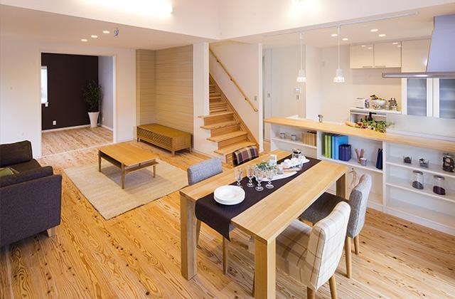 七呂建設 南九州市川辺町にてモデルハウス「子育てから老後まで考え尽くされた間取りの家」の見学会