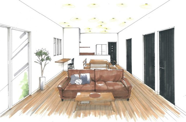 トータルハウジング 出水市向江町にて「暮らしやすさを考えた無駄のない平屋」の新築発表会