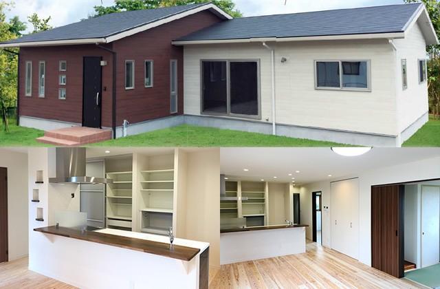 七呂建設 曽於市大隅町にて「家事時間が2分の1になる4LDK平屋の家」の完成見学会