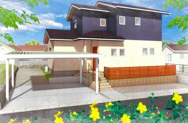 ヤマサハウス 日置市伊集院町にて「約80坪の敷地に建つ、ゆったりとした2階建て」の完成見学会