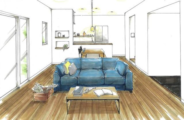トータルハウジング 鹿屋市打馬にて「空間を有効に活用した5人家族の家」の新築発表会