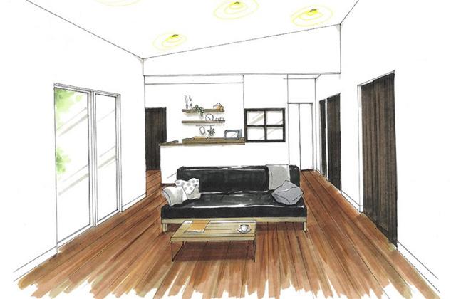 トータルハウジング 霧島市国分下井にて「勾配天井のあるセンターリビングに 家族の笑顔が集まる平屋の家」の新築発表会