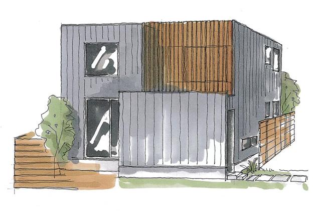 ベルハウジング 鹿児島市宇宿にて「光が降り注ぐボックス型の家」の完成見学会