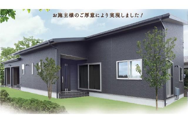 七呂建設 南九州市頴娃町にて「ビルトインガレージがついた平屋」の完成見学会