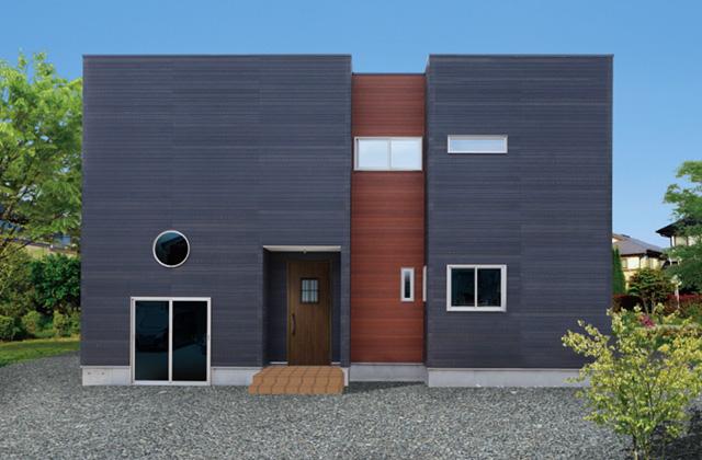 七呂建設 鹿児島市下福元町にて「大吹き抜けと大収納がスキップフロアで共存するキューブ型ハウス」の完成見学会