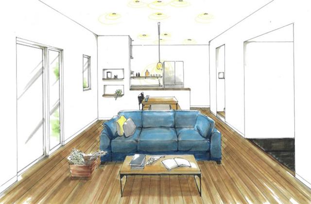 トータルハウジング 薩摩川内市永利町にて「大空間を体感できる平屋の家」の新築発表会
