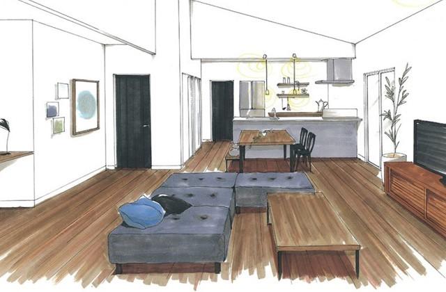 トータルハウジング 鹿児島市下福元町にて「ラグジュアリーかつ居心地のいい家」の新築発表会