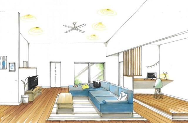 トータルハウジング 薩摩川内市国分寺町にて「やさしい雰囲気でまとめたナチュラルな平屋の家」の新築発表会
