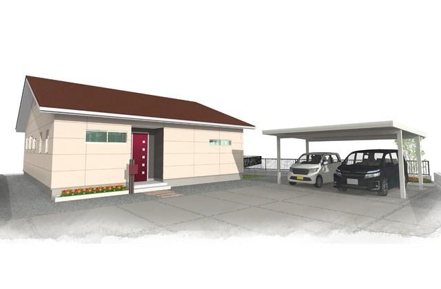 霧島市国分福島にてユニバーサルホームの完成見学会