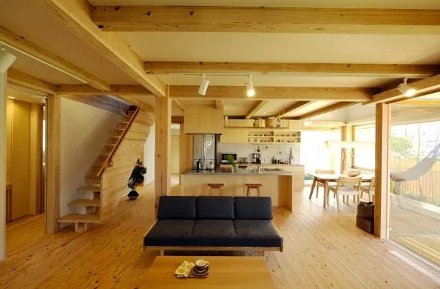 ヤマサハウス 姶良市加治木町にて「庭とつながるウッドデッキのある平屋」の完成見学会